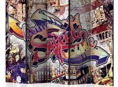 Paraván - Cool Graffiti II [Room Dividers]